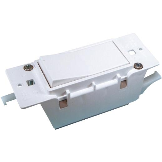 United States Hardware White Electrical Switch