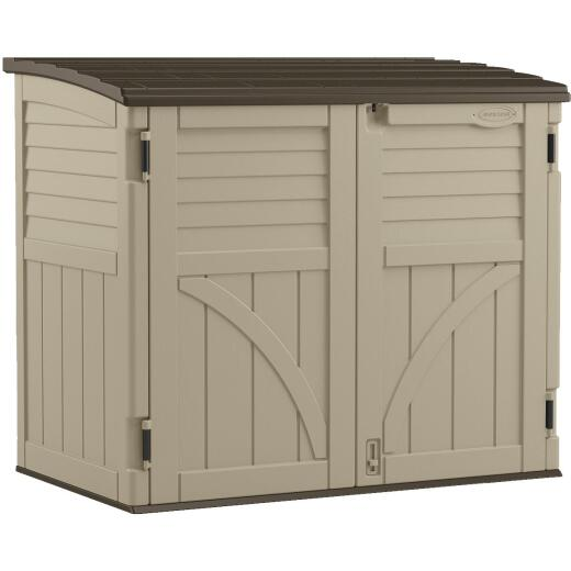 Suncast 34 Cu. Ft. Horizontal Storage Shed