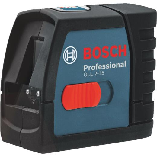 Bosch 50 Ft. Self-Leveling Compact Cross-Line Laser Level