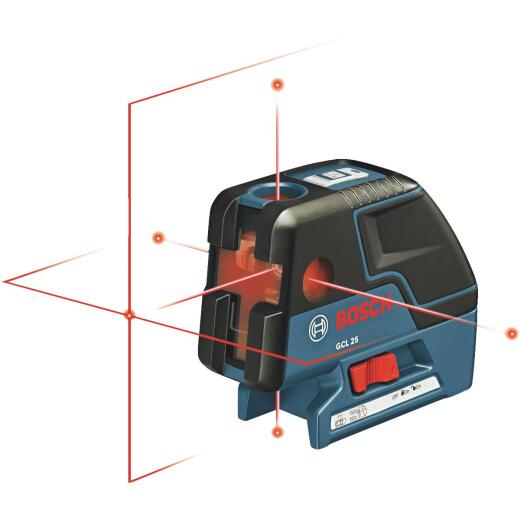 Bosch 100 Ft. Self-Leveling 5-Point and Cross-Line Laser Level