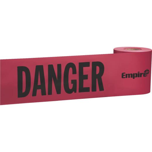 Empire 3 In. W x 200 Ft. L Danger Caution Tape