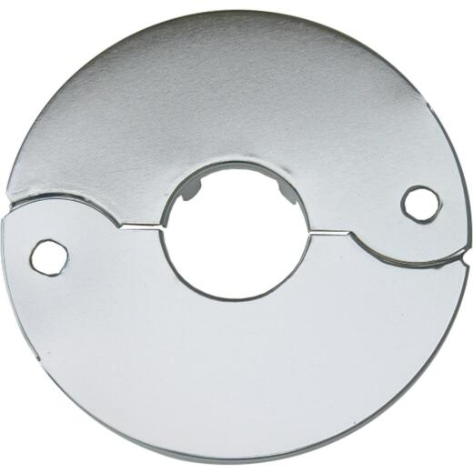 Lasco Chrome-Plated 1/2 In. IP or 3/4 In. Copper 7/8 In. ID Split Plate