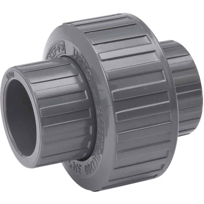 B&K 2 In. Solvent Schedule 80 PVC Union