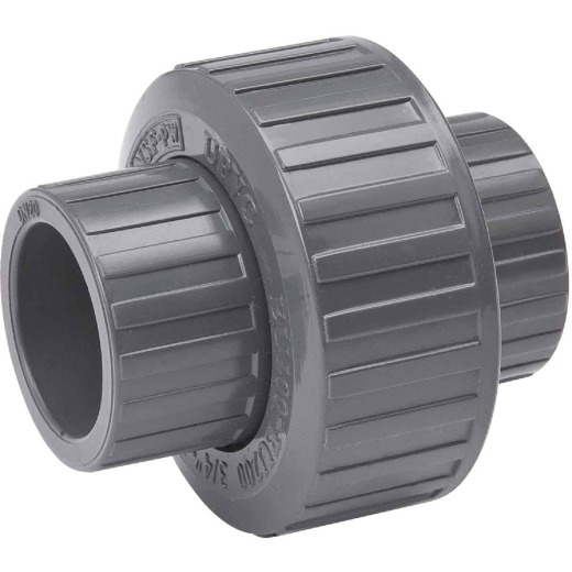 B&K 1/2 In. solvent Schedule 80 PVC Union