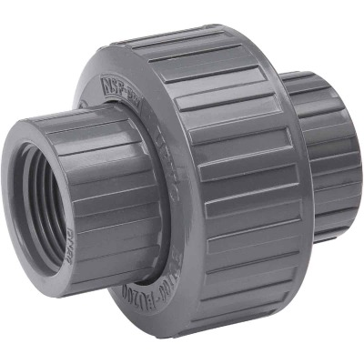 B&K 1-1/2 In. Threaded Schedule 80 PVC Union