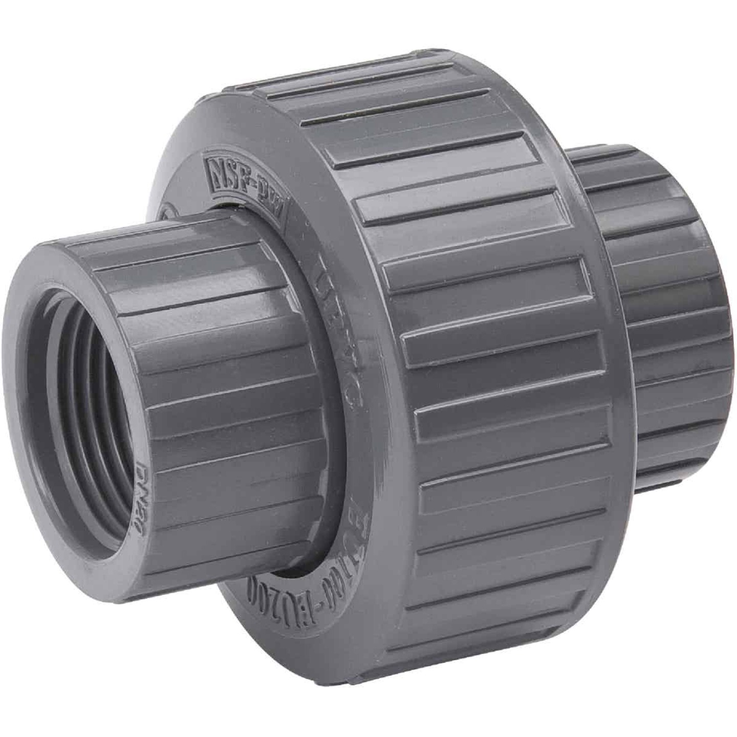 B&K 3/4 In. Threaded Schedule 80 PVC Union Image 1