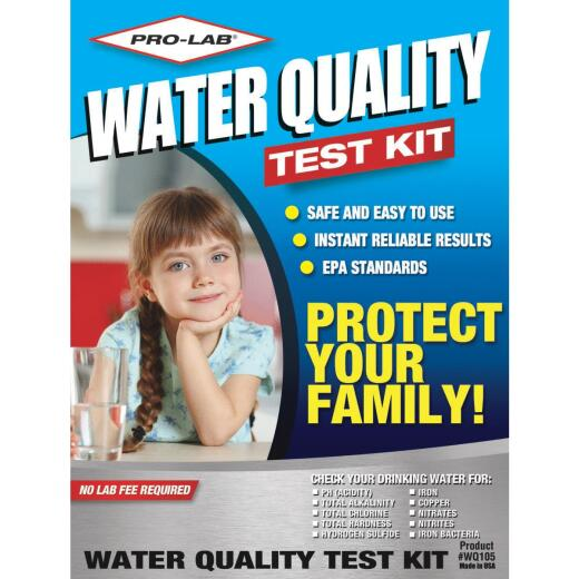 Pro Lab Instant Results Water Quality Test Kit