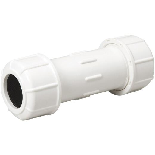 B & K 1/2 In. X 5 In. Compression PVC Coupling