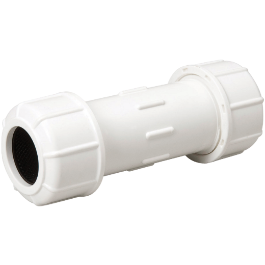 B & K 2 In. X 7-1/2 In. Compression PVC Coupling