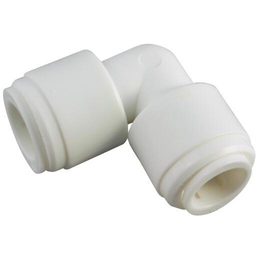 Anderson Metals 1/4 In. x 1/4 In. Push-in Plastic Elbow
