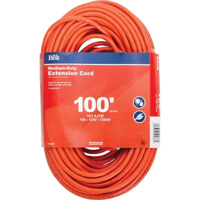 Do it Best 100 Ft. 16/3 Outdoor Extension Cord