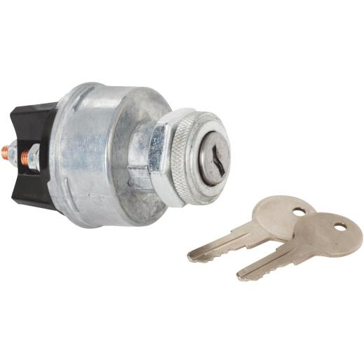Calterm 4-Position Starter Ignition Switch (2 Keys Included)