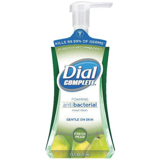Dial Complete Pear Antibacterial Foaming Hand Soap