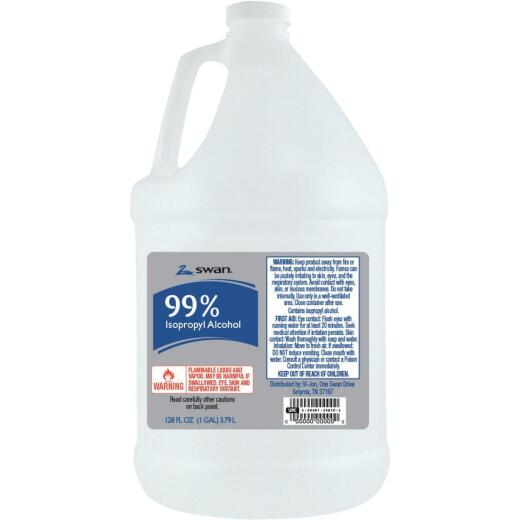 Swan 99% Isopropyl Rubbing Alcohol, 1 Gal