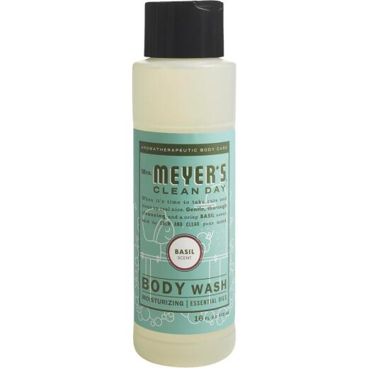 Mrs. Meyer's Clean Day 16 Oz. Basil Body Wash