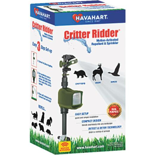 Havahart Critter Ridder Motion Activated 35 Ft. Spray Range Electronic Pest Repellent
