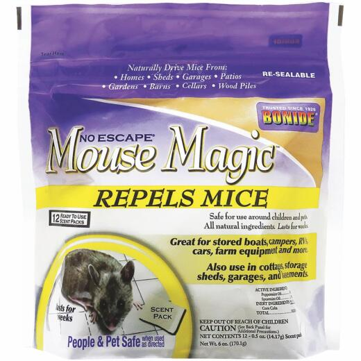 Bonide Mouse Magic 6 Oz. Granular Mouse Repellent (12-Pack)