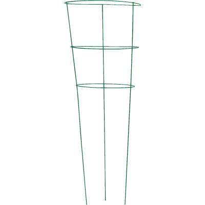 Panacea 42 In. Green Powder Coat Galvanized Welded Wire Tomato Cage