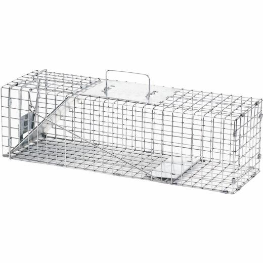 Havahart Professional Galvanized Steel 24 In. Medium Live Animal Trap