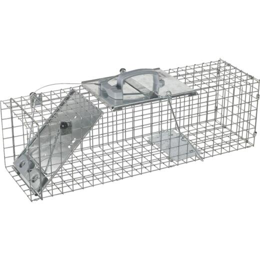 Havahart Easy Set Galvanized Steel 24 In. Live Rabbit Trap
