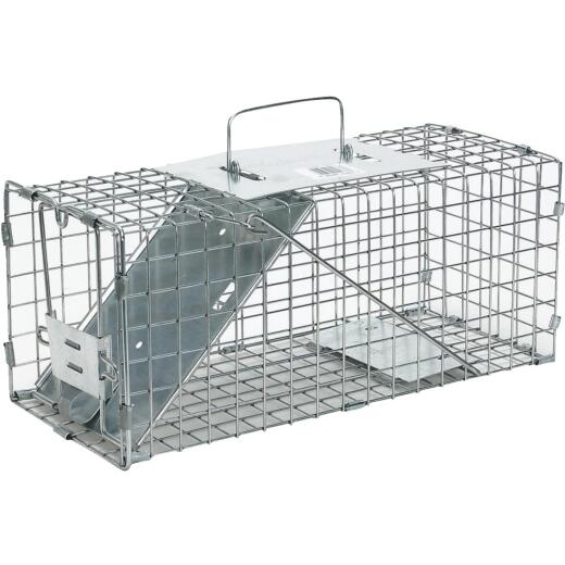 Havahart Galvanized Steel 17 In. Live Squirrel Trap
