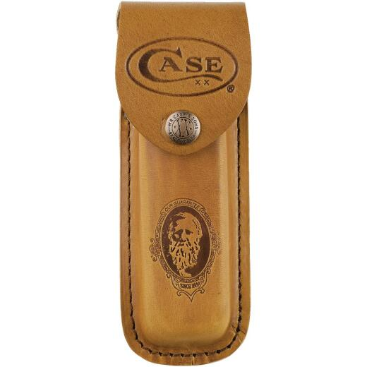 Case Brown Leather Belt Knife Sheath
