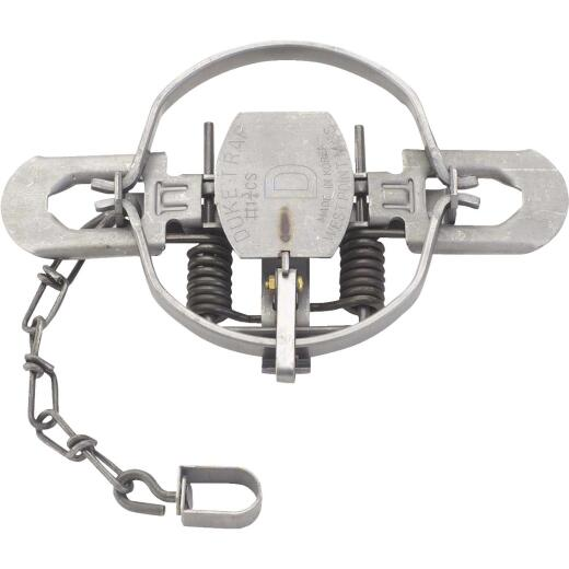Duke Traps 5.25 In. Jaw Spread Steel Coil Spring Bobcat, Coyote, Fox, & Raccoon Trap